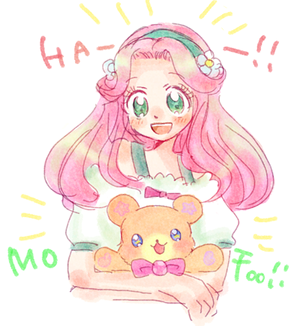 Kotoha and Mofurun