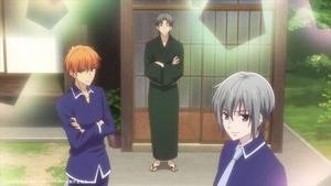 Kyo, Shigure and Yuki