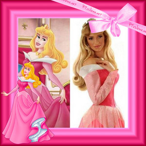 LOOK ALIKE PRINCESS AURORA