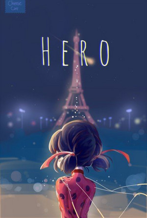 Ladybug and the Eiffel Tower