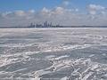 Lake Erie Frozen