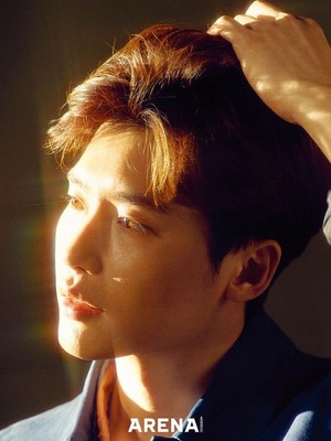 Lee JongSuk For ARENA HOMME April Issue 2