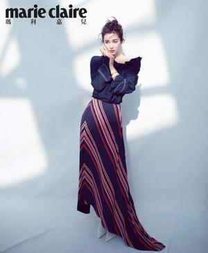 Li Bing Bing Marie Claire - August 2018 Issue
