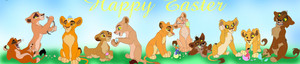 Lion king happy easter