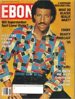 Lionel Richie On The Cover Of Jet