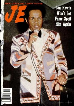 Lou Rawls On The Cover Jet