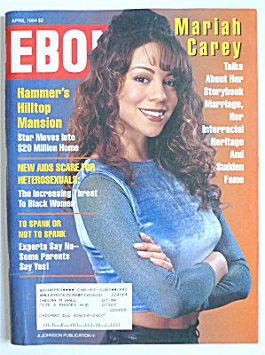 Mariah Carey On The Cover Of Ebony