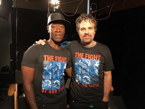 Mark Ruffalo and Don Cheadle for The Solutions Project