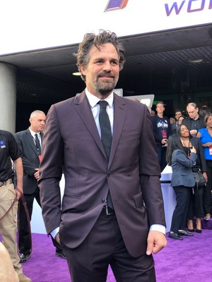 Mark Ruffalo at the Avengers: Endgame World Premiere in Los Angeles (April 22nd, 2019)