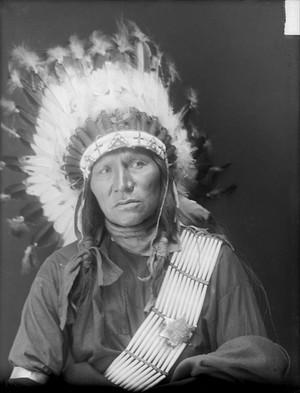 Mato Waha-Cunka (Bear Shield) Dakota Oglala Gill - May 1910
