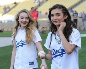 Maya and Riley
