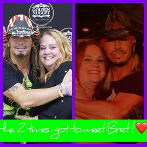 Me and bret
