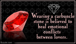 Meaning Of The Carbuncle Stone