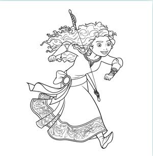 Merida running