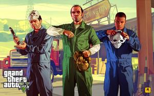 Michael, Franklin and Trevor