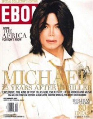 Michael Jackson On The Cover Of Ebony