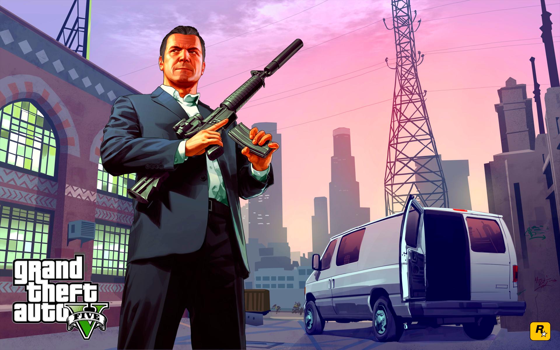 Michael Grand Theft Auto V Fond D Ecran 42770445 Fanpop