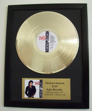 Michael's Gold Record Bad