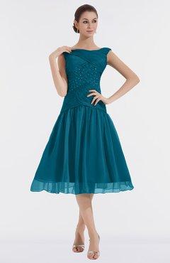 Midnight Blue Bridesmaid Dress