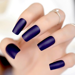 Midnight Blue Nails