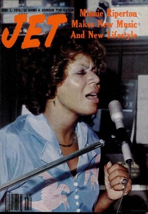 Minnie Ripperton On The Cover Of Jet