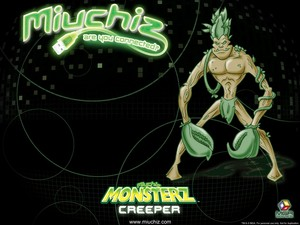 Miuchiz Monsterz Creeper hình nền
