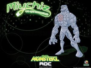 Miuchiz Monsterz Roc karatasi la kupamba ukuta