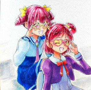 Miyuki and Nozomi