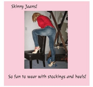 Monika's Skinny Jeans