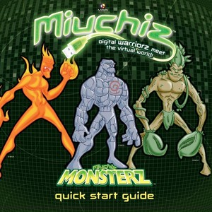 Monsterz Quick Start Quide Cover