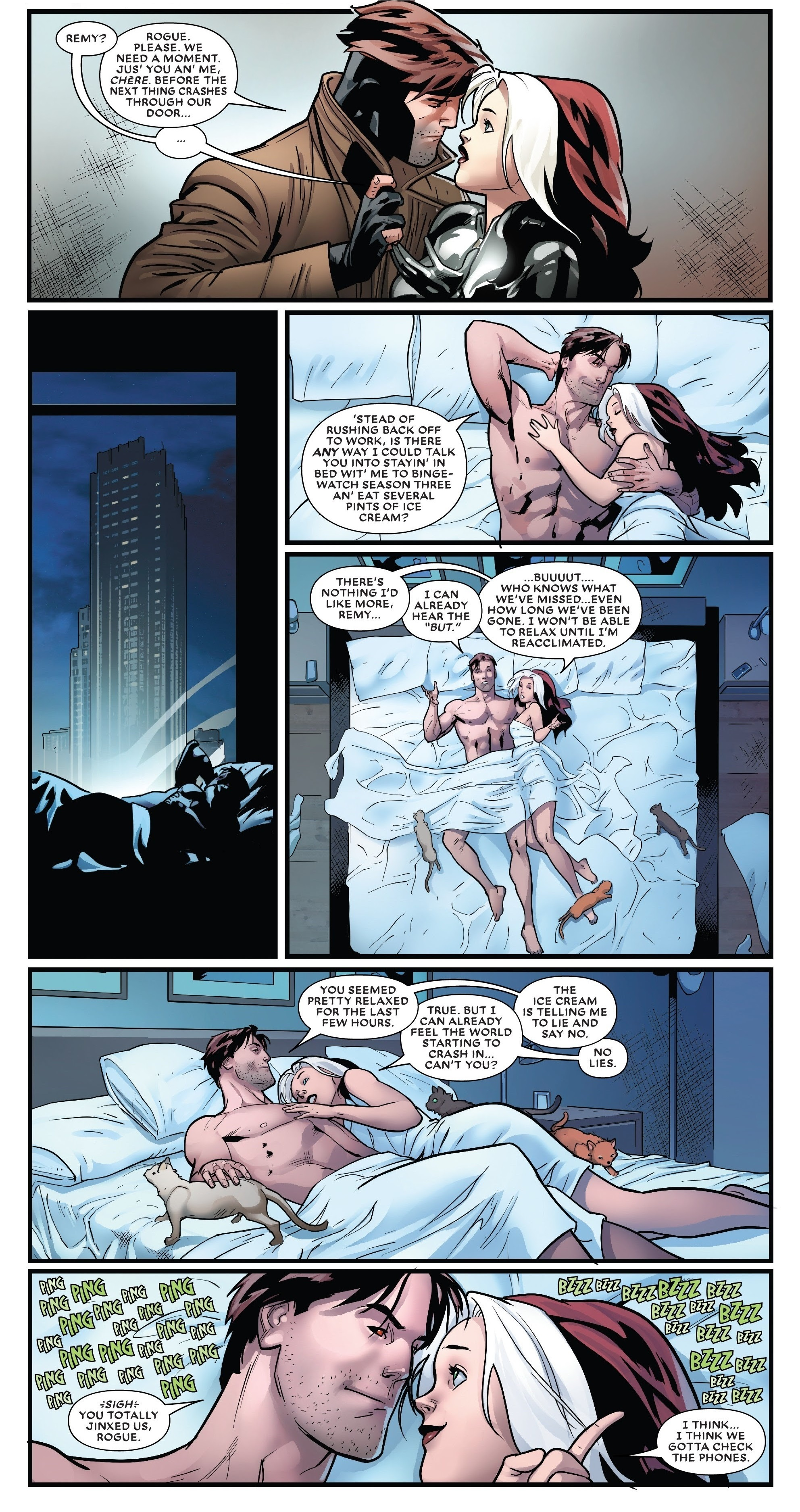 Mr. and Mrs. X #10 pages 18 and 19