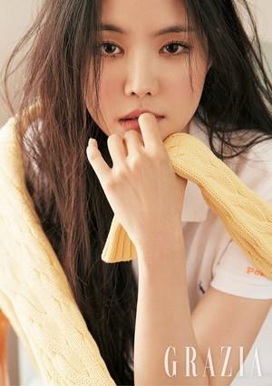 Naeun for GRAZIA Korea Magazine