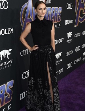 Natalie Portman at the Avengers: Endgame World Premiere in Los Angeles (April 22nd, 2019)