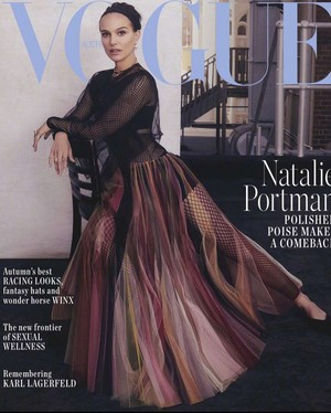 Natalie Portman for Vogue Australia [April 2019]