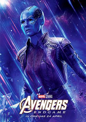 Nebula ~Avengers: Endgame (2019) character posters