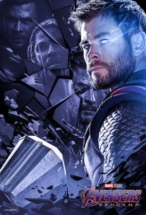 New Avengers: Endgame character posters sejak Boss Logic