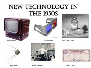 New. Technology In The 1950s