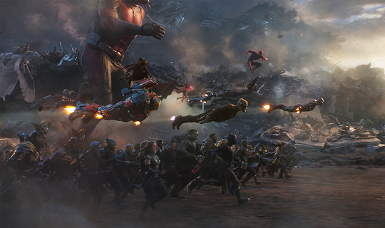 New official stills from Avengers: Endgame (2019)