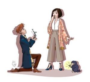Newt/Tina Drawing - Proposal
