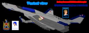 """Northrop Grumman F-206 """"Falcon II"""" large heavy đánh chặn, người đánh chặn, máy bay đánh chặn"""