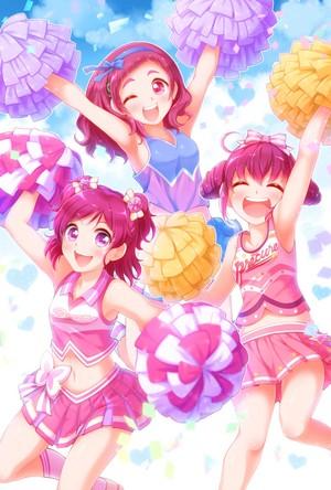 Nozomi, Hana and Miyuki