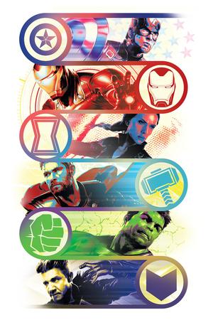 Official promotional art for Avengers: Endgame