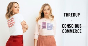 Olivia Wilde ~ 'Choose Used' thredUP x Conscious Commerce Photoshoot ~ April 2019