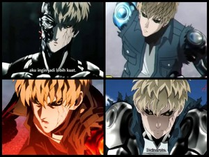One Punch Man Genos