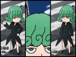 One Punch Man Tatsumaki Tornado