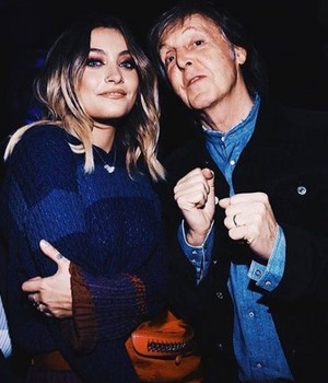 Paris Jackson And Paul McCartney