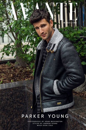 Parker Young - Avante Magazine Cover - 2018