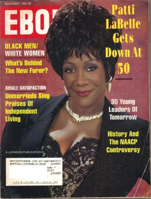 Patti LaBelle On The Cover Of Ebony