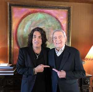 Paul Stanley on The Big Interview with Dan Rather (April 23, 2019)