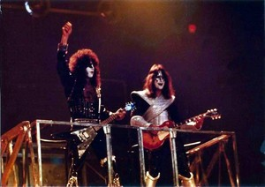 Paul and Ace ~Montréal, Québec, Canada...July 12, 1977